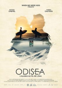 Affiche fu film Odisea : l'Alaska au fil de l'eau