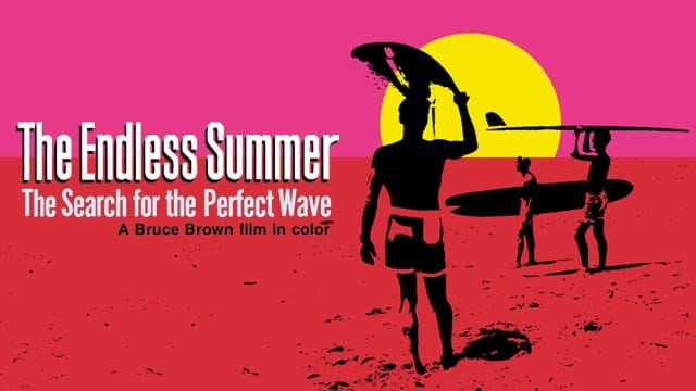 Affiche du film the endless summer de bruce brown