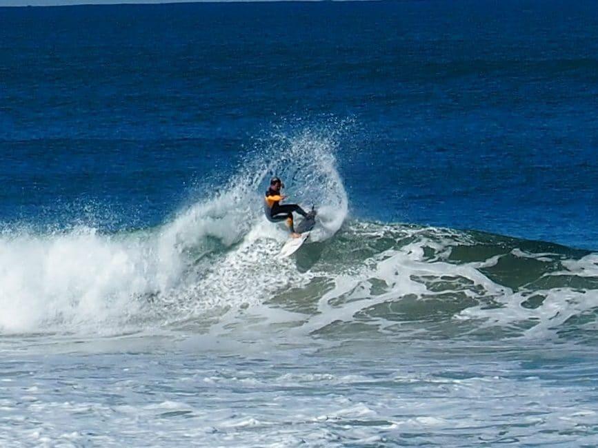 Paschal d'Anglet surf spirit surfe au vvf